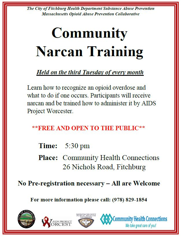 Free Narcan Training