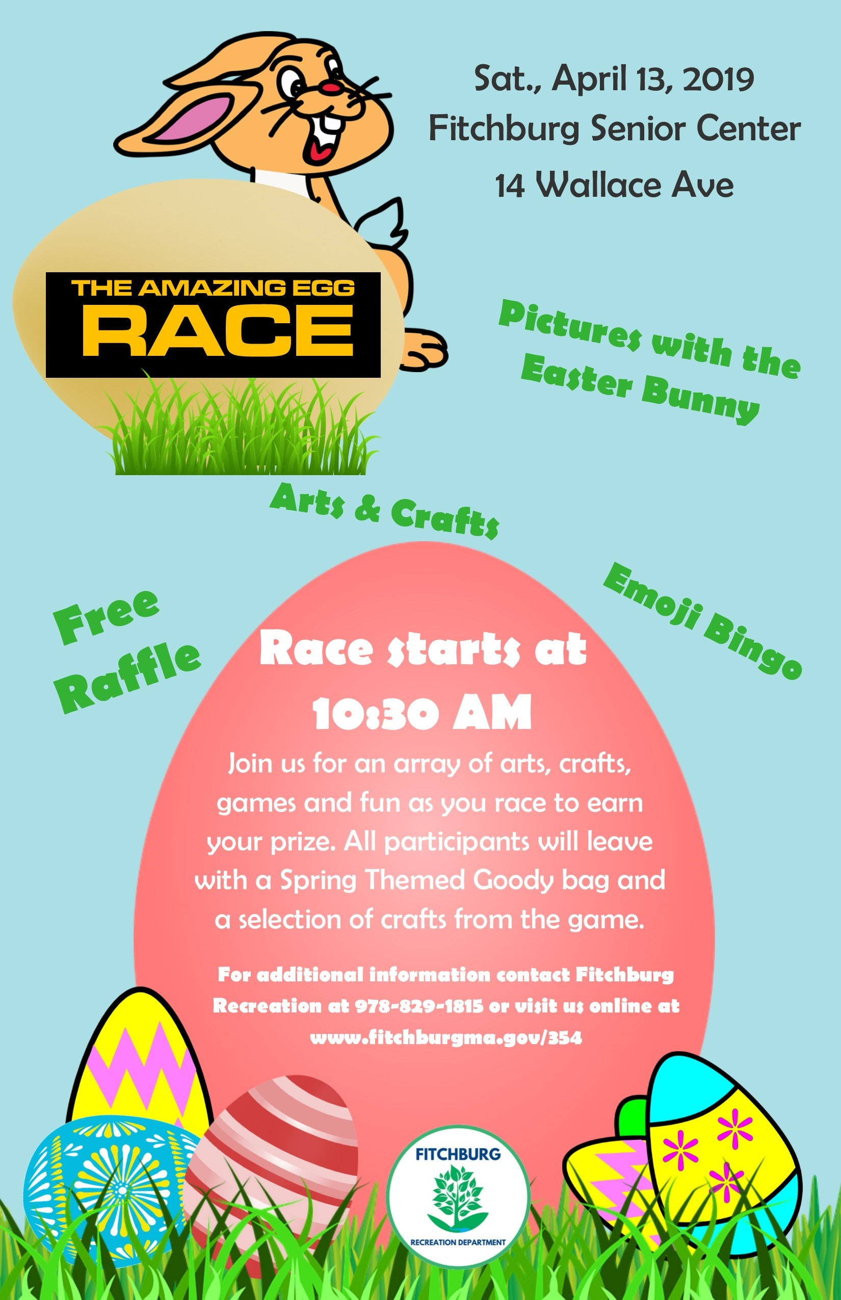 Amazing Egg Race 2019