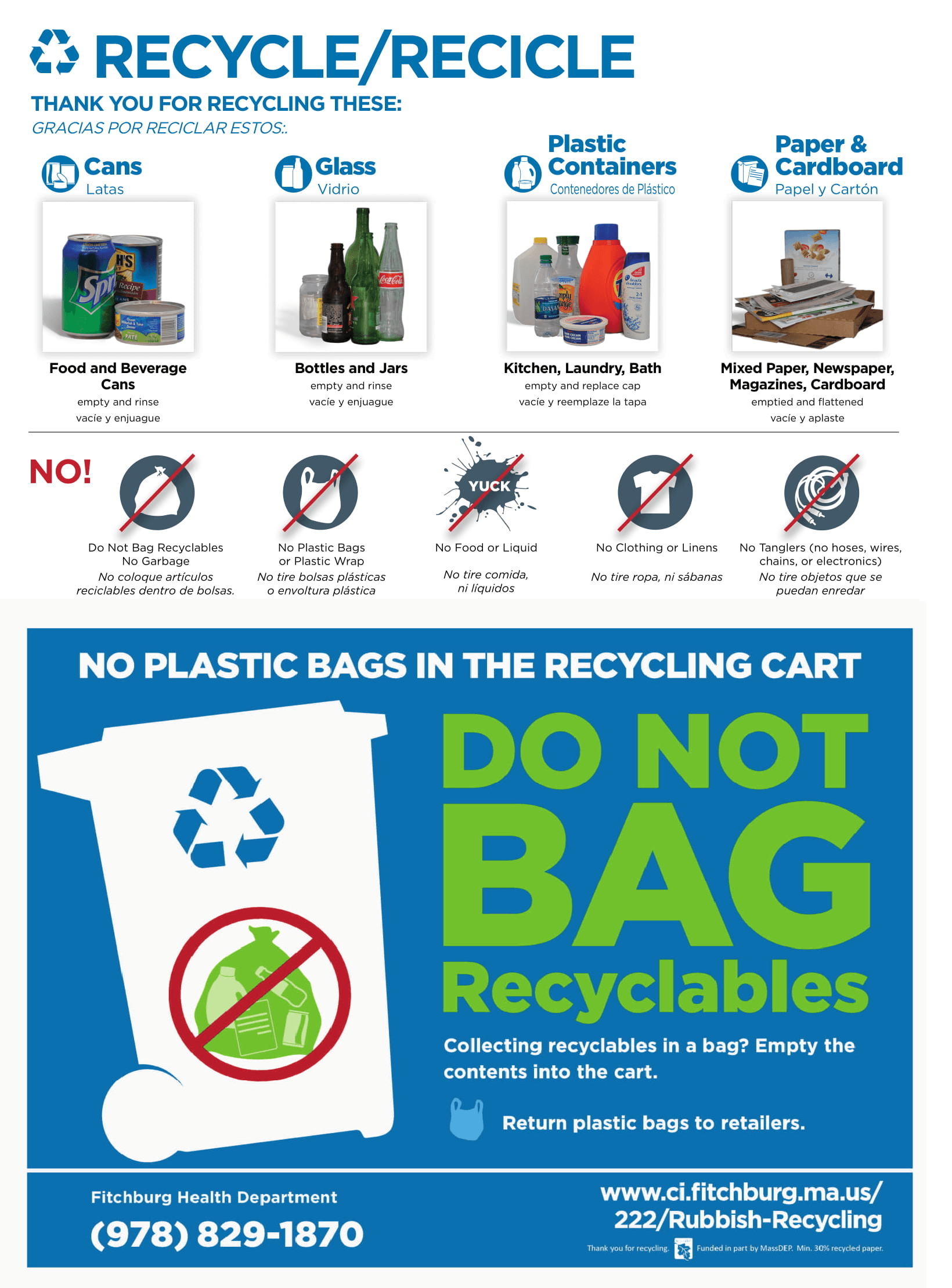Proper Recycling Guidelines