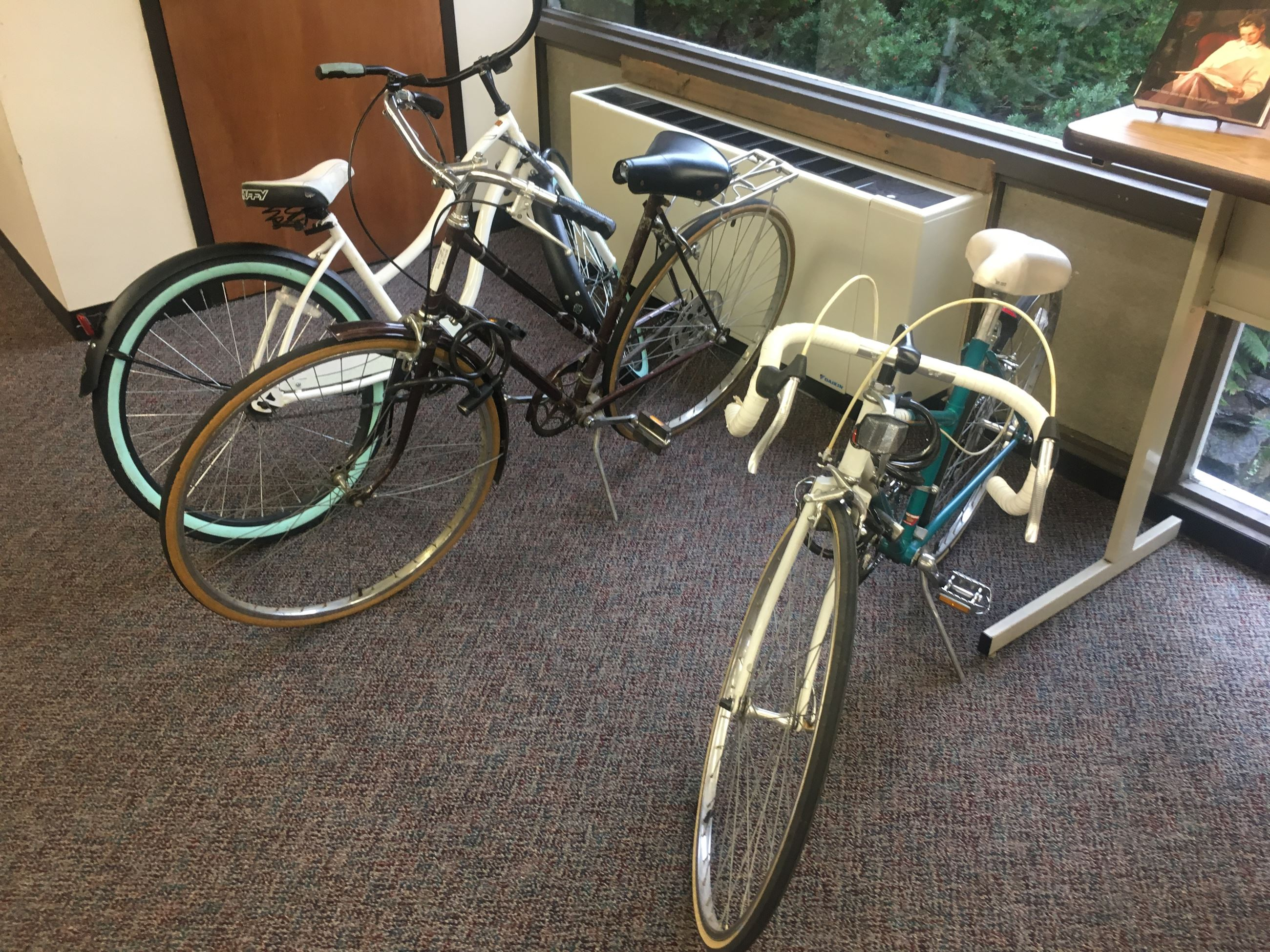 picture of bicycles to borrow