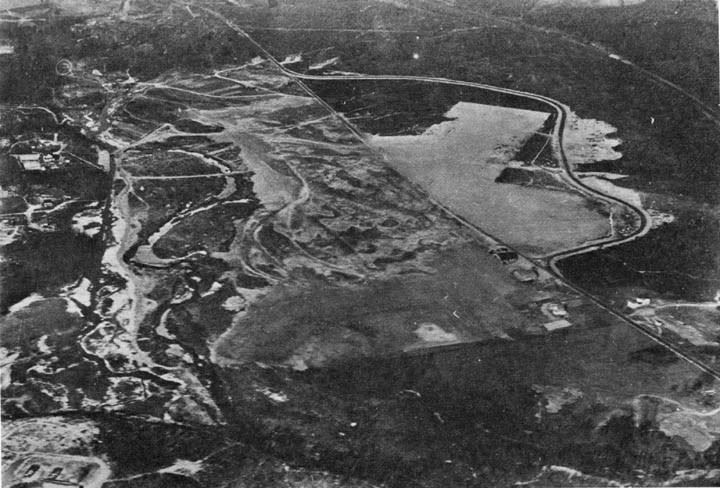 Aerial Photograph of the Airport in the 1930s