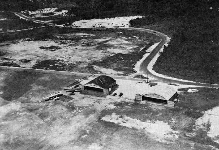 Aerial Photograph of the Airport in 1932