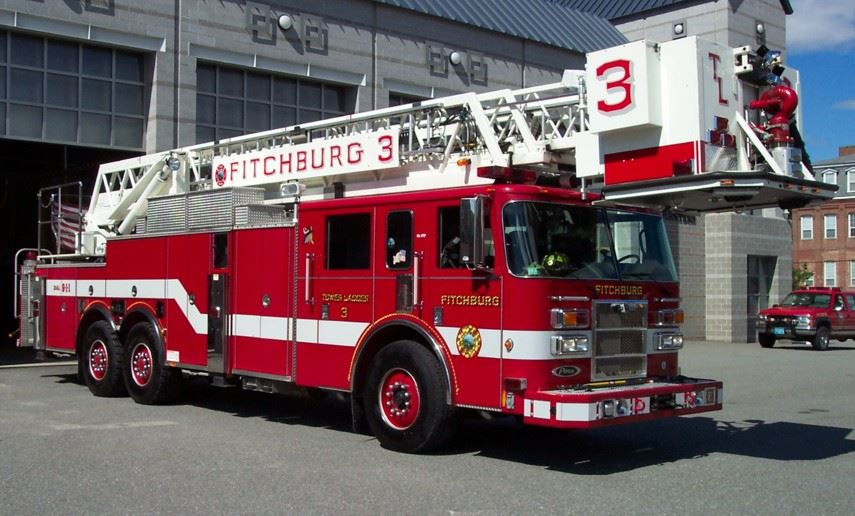 The Tower Ladder 3 Central Truck is a 2011 KME, with a 102 foot Aerial Tower